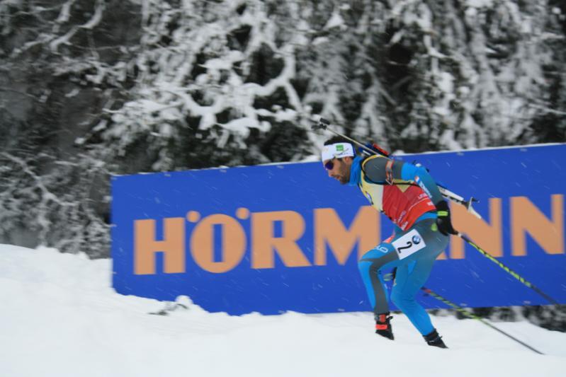 Grand Bornand Biathlon décembre 2017
